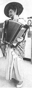 Lucia With Accordian